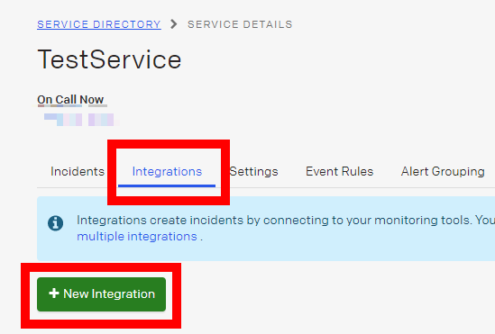 image from Sending monitoring notifications to your PagerDuty